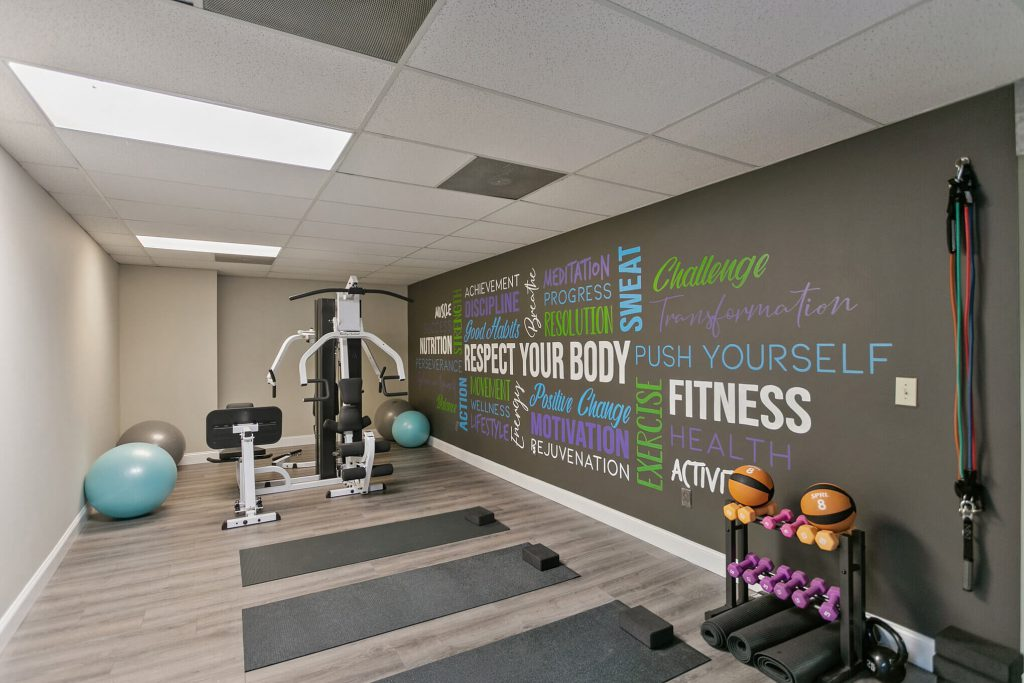 Therapeutic Fitness Room At The Summit Wellness Group in Roswell, GA