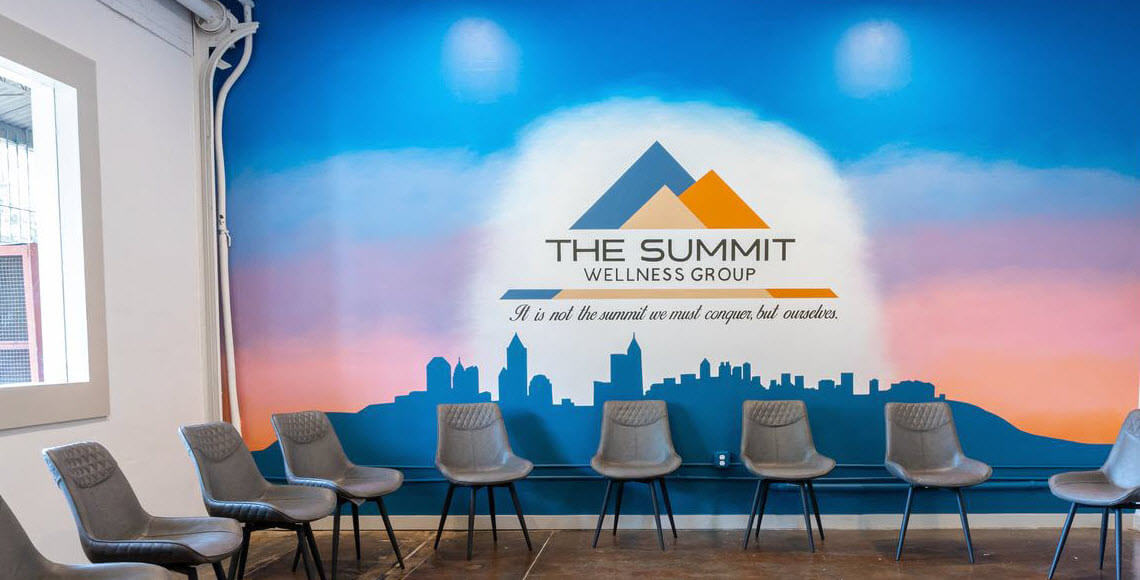 The Summit Wellness Group Facility Group Room